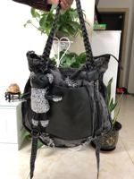 women large capacity denim handbag female shoulder bag Satchel multi function female bags