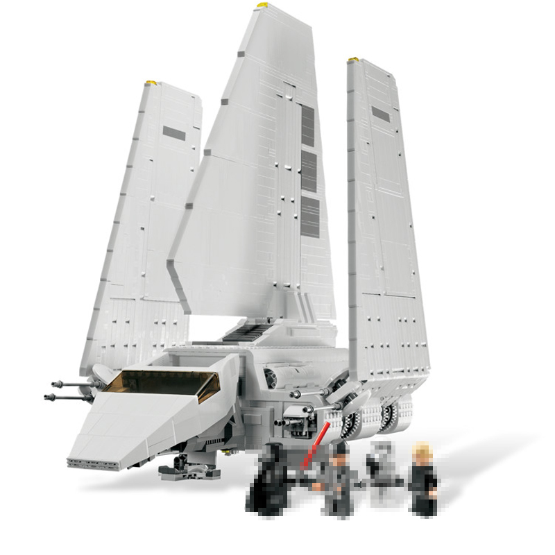 LEPIN 05057 937Pcs Star MOC Series war Technic Imperial Shuttle Tydirium Building Blocks Bricks Model Toys For children 75094 lepin 05057 937pcs star moc series war imperial shuttle tydirium building blocks bricks assembled children toys compatible 75094