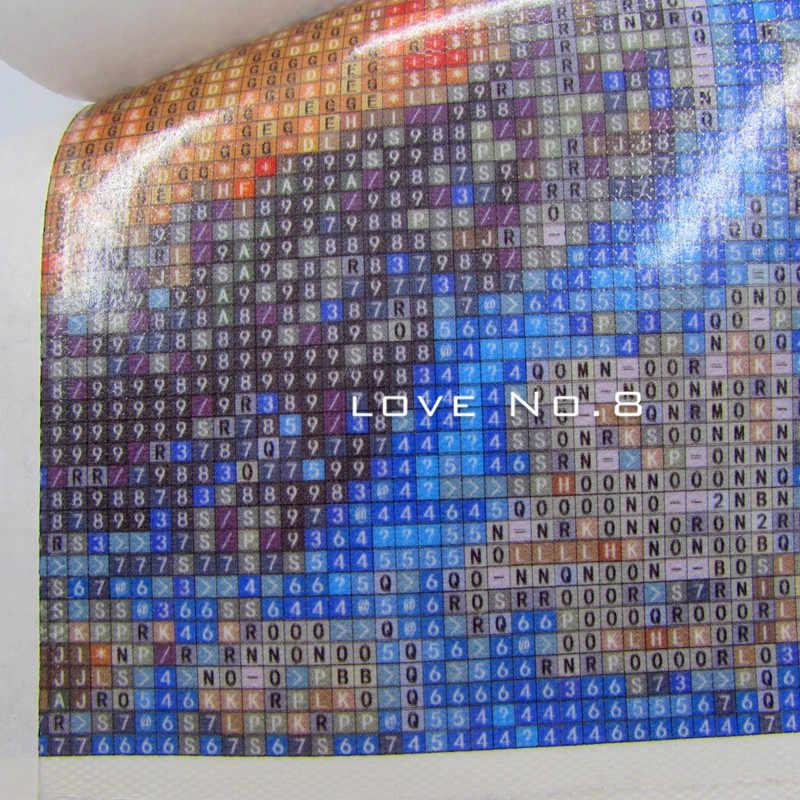 DPF TỰ LÀM Các con công trắng 5D kim cương thêu sơn kim cương cross stitch vá thủ công mỹ nghệ kim cương mosaic vuông trang trí nội thất