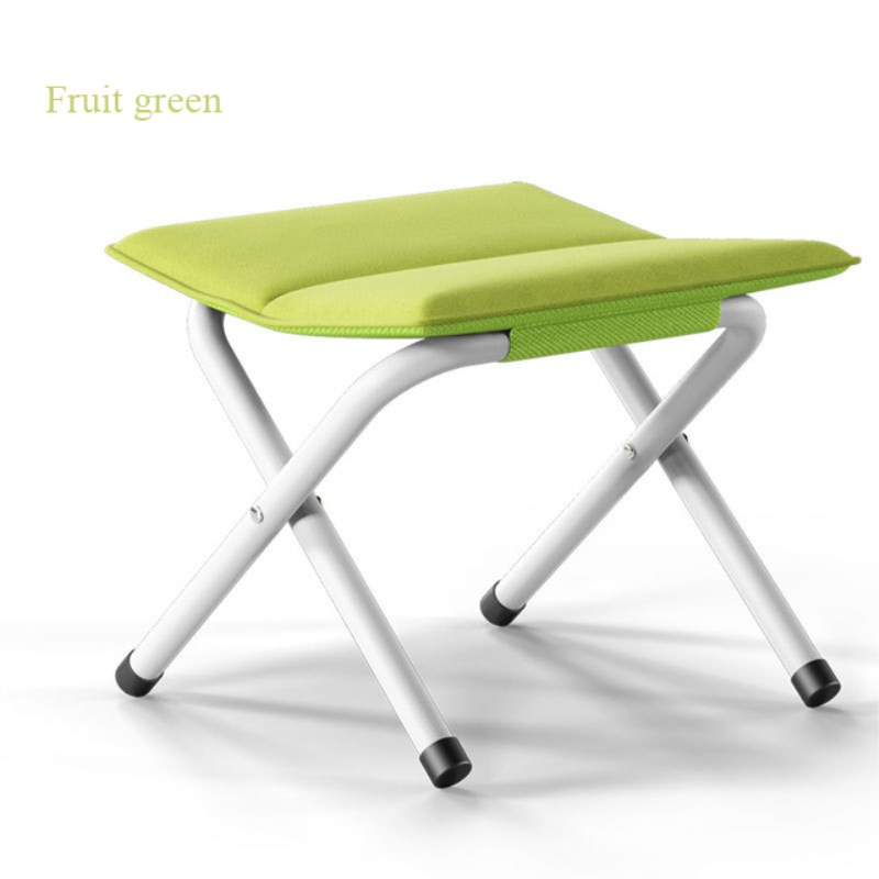 15% X12  4 LEGS STRONG CHAIR SEAT FOLDING CAMPING STOOL PORTABLE HIKING FISHING BBQ COLOURS AVAILABLE