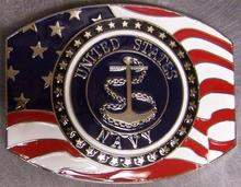 Low price custom belt buckles wholesale Navy Emblem for men hot sales Military BELT BUCKLE cheap new