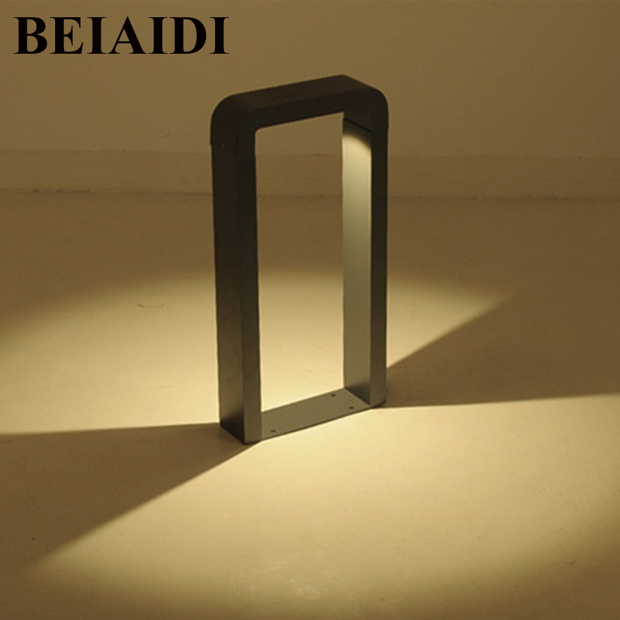 BEIAIDI Outdoor Led Garden Lawn Light Die Cast Aluminum Decoration Garden Light Waterproof Landscape Community Villa Lawn Lamp durable imitation ivory cigarette holder 13mm filter smoking pipe man s gift