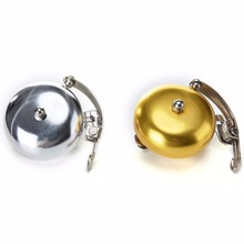 Handlebar Bicycle Bell Retro Cycle Push Bike Metal Bell Ring Loud Sound One Touch Cycling Bicycle Horn Alarm Accessory