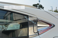Rear Side Window Corner Triangle Handle Cover Trim For Honda Vezel 2014 2015