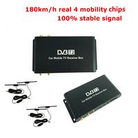 180 km/h 4 Antenna DVB-T2 Car   TV     Receiver   4 Mobility Chip Digital Car   TV   Tuner HD 1080P DVB T2 Receptor Satellite   TV     Receiver