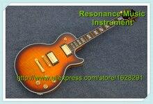 Neue Ankunft Benutzerdefinierte 22 Gitarre LP Supreme Vintage Sunburst Palisander Griffbrett Auf Lager Für Verkauf