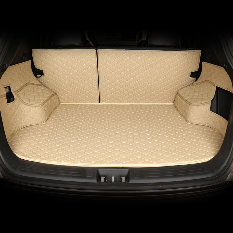 Custom Car Trunk Mat for Volkswagen 4 5 6 7 vw passat b5 b6 b7 polo golf mk4 tiguan car accessories styling cushion trunk pad стоимость