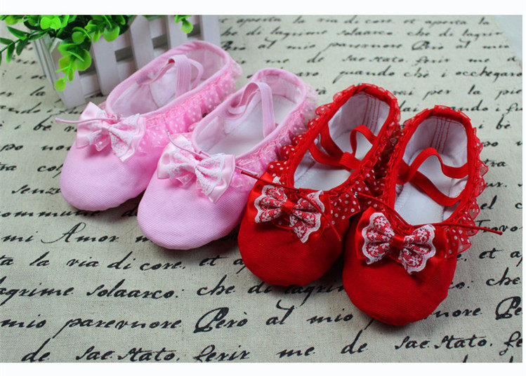 Online Shop Size24~40 Fit for 16-24cm New Pink Lace Soft Ballet ... a04639200cb2