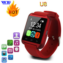 Bluetooth Smart Watch U8 Wrist Watch Fashion Digital Sport Wrist LED Watch Pair For iOS Android