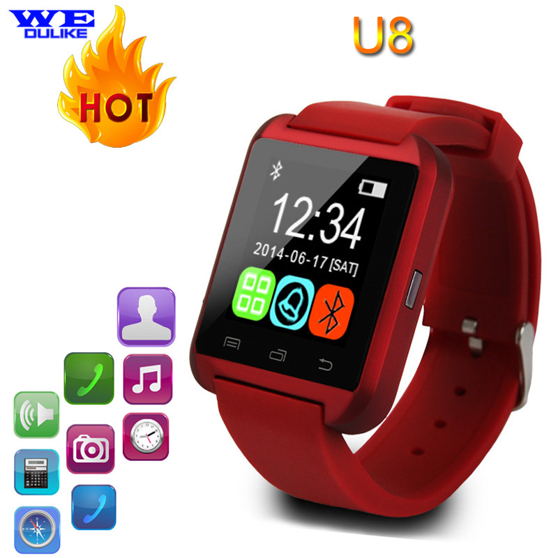 Bluetooth font b Smart b font font b Watch b font U8 Wrist font b Watch