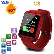 Bluetooth Smart Watch U8 Wrist Watch Fashion Digital Sport Wrist LED Watch Pair For iOS Android Phone Smart Wear
