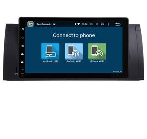 Image 4 - Radio Multimedia con GPS para coche, Radio con Android 10,0, 2 gb ROM, navegador Navi, 9 pulgadas, completamente táctil, DVD, Wifi, 3G, BT, RDS, Can bus, DVR, para BMW E53, X5, E39, 5, 97 06