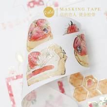 1 шт декоративные клейкие ленты для скрапбукинга с милой клубничной