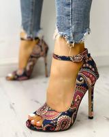 Новые женские модные летние пикантные изысканные туфли на высоком каблуке; женские босоножки на высокой шпильке с открытым носком