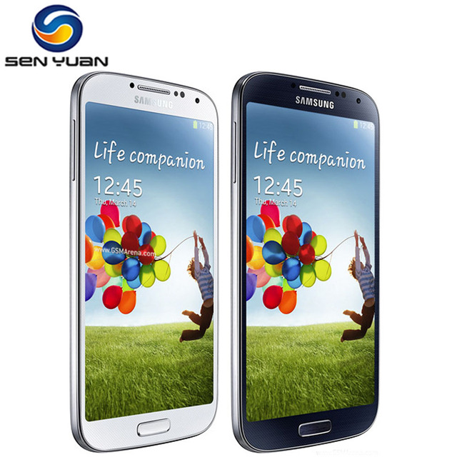 "Samsung Galaxy S4 i9500 Mobile Phone Quad Core 2GB RAM 16GB ROM 5.0 "" Touch screen Sumsung S4 Cell Phone"