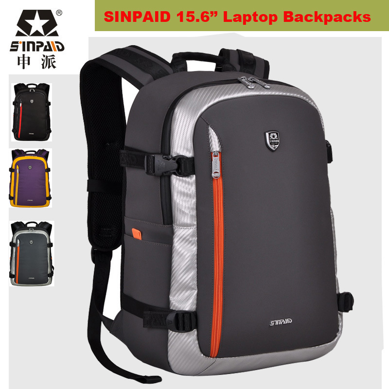 ФОТО Large Capacity Waterproof Laptop Bag 15.6 inch Notebook Backpack Bags Designer Men Luggage Travel Bags Hiking Camping Sport Bag