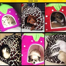 Brand New Lovely Pet Cat Bed Mat Puppy Dog Kennel House Travel