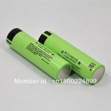 Baterias para Panasonic 2 PCS 100% Original 3.7 V 18650 NCR 18650b 3400 MAH Recarregável Bateria e power Bank e lanterna