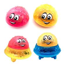 цена на Funny Kids Bath Toys Electric Induction Splash Toys For Children Light And Music Rotating Children Pool Bath Toy Water Toys