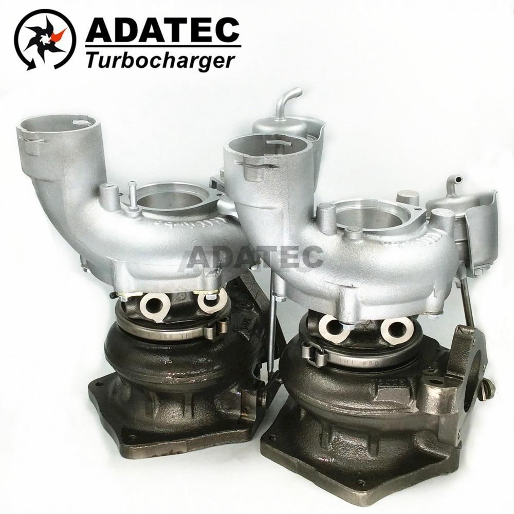 IHI turbo RHF5H 94812301656 94812301556 VVQ1 Liens VVQ2 Rechts turbine pour Porsche Cayenne 4.5 Turbo (9 PA) 331 Kw-450 HP 948