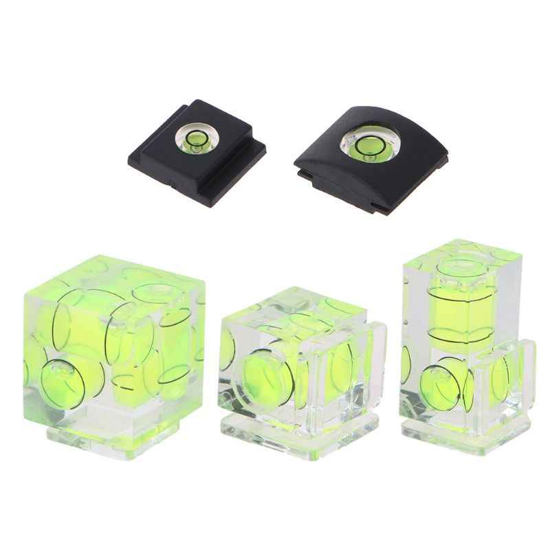 Camera Bubble Hot Shoe Spirit Level Mount 3 Axis 2 Axis 1 Axis for DSLR Film for Cam for Canon for Nikon for Olympus