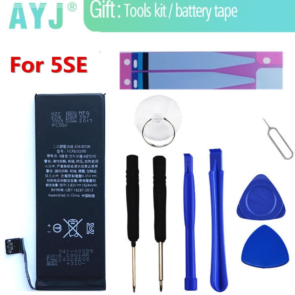 Original AYJ Phone Battery For Apple iphone SE 5se Bateria ...