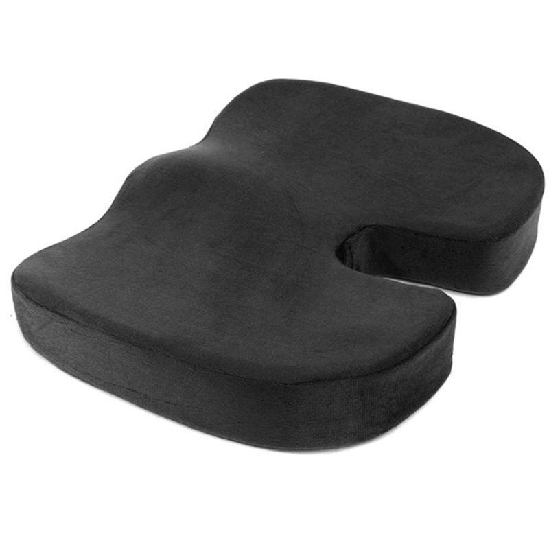 Travel Seat Cushion Coccyx Orthopedic Memory Foam U Seat Massage Chair Cushion Pad Car Office Massage Cushion