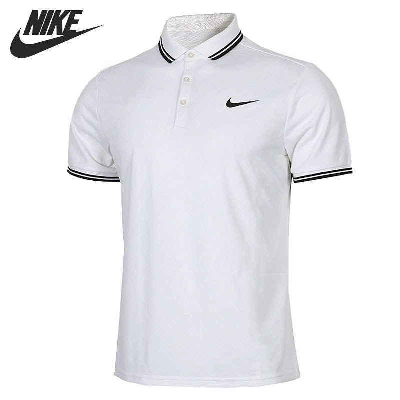 Original New Arrival 2018 NIKE NKCT DRY SOLID Men's exercise shirt short sleeve Sportswear недорго, оригинальная цена