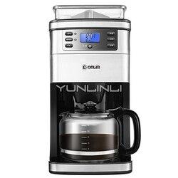 Gospodarstw domowych w pełni automatyczny ekspres do kawy amerykański ekspres do kawy młynek do kawy świeżo parzonej ekspres do kawy DL-KF4266