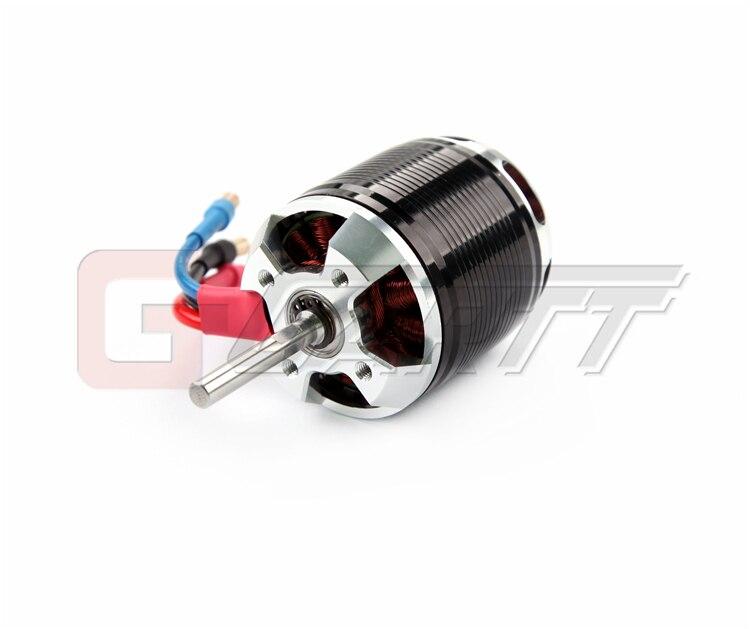 Gartt HF 530KV 4500W Brushless Motor For 700 Algin Trex RC Heli Black gh hf 530kv 4500w brushless motor with steel case for 700 align trex rc heli black