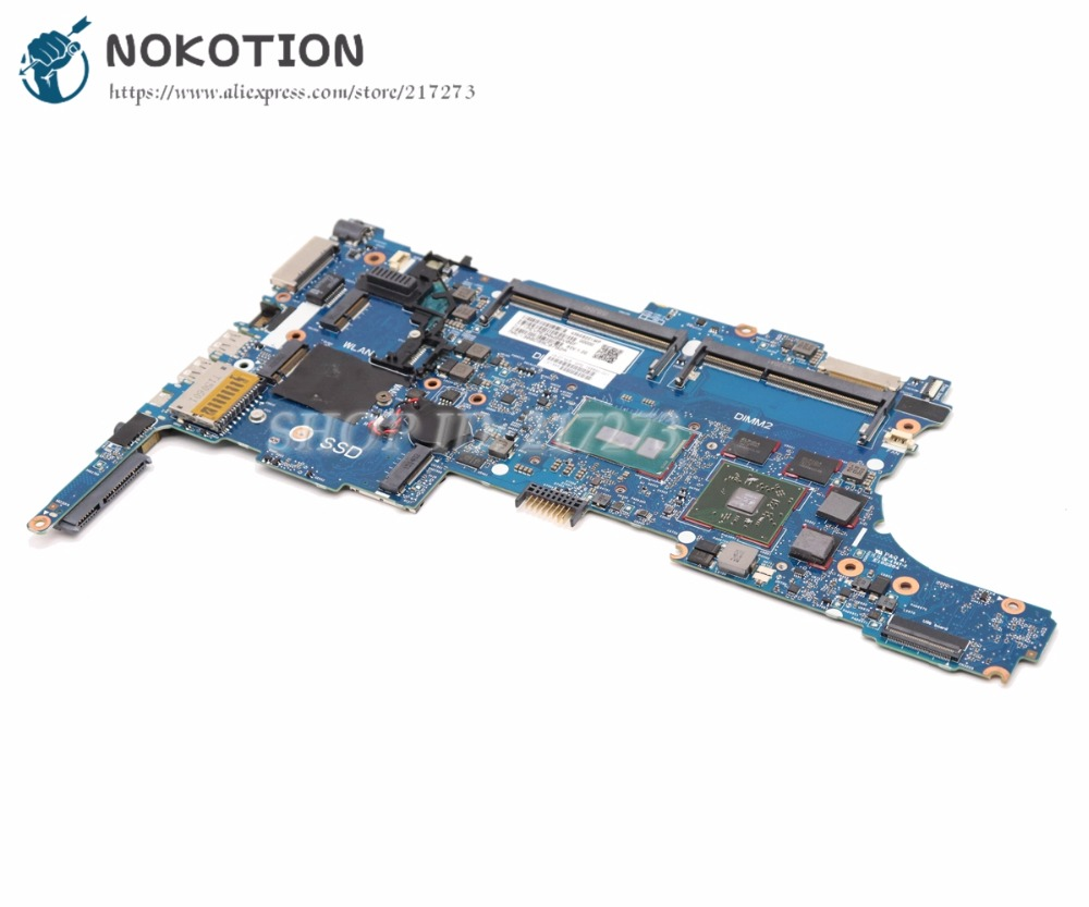 NOKOTION For HP Zbook 15U G2 Laptop Mothebroard 796891-001 796891-601 6050A2637901-MB-A02 SR23V <font><b>I7</b></font>-<font><b>5600U</b></font> CPU image