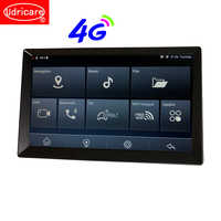 Udricare 10 inch Android 8.1 SIM Card Car Truck Bus Bluetooth Phone WiFi GPS Navigation 16GB Full HD 1080P Video Recorder DVR