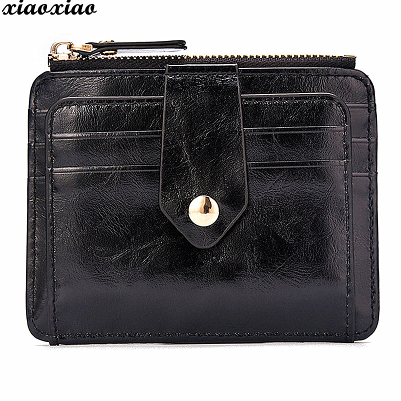 Brand Fashion Leather Thin Wallet Men Blocking Short Wallet Coin Card Holder Purse With Coin Pocket Male money bag quality цена