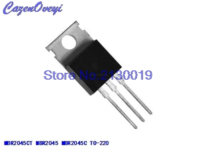 10pcs/lot MBR2045CT MBR2045C <font><b>MBR2045</b></font> 20A 45V TO-220 In Stock image