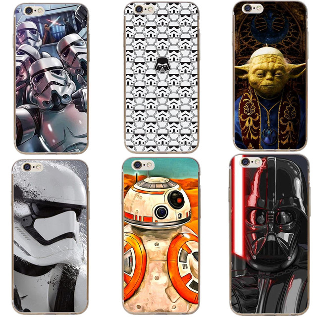 competitive price 25905 30576 US $1.19 40% OFF|Phone Case Star Wars The Last Jedi Porgs R2D2 BB8 Hard PC  Phone Case For iPhone 7 XR XS Max 6 6S Plus 5 5S SE 8 8Plus X 10 Cover-in  ...