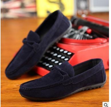 2017 Hot mens Casual Shoes mens canvas shoes for men shoes men fashion Flats Leather brand fashion suede Zapatos de hombre 36-44