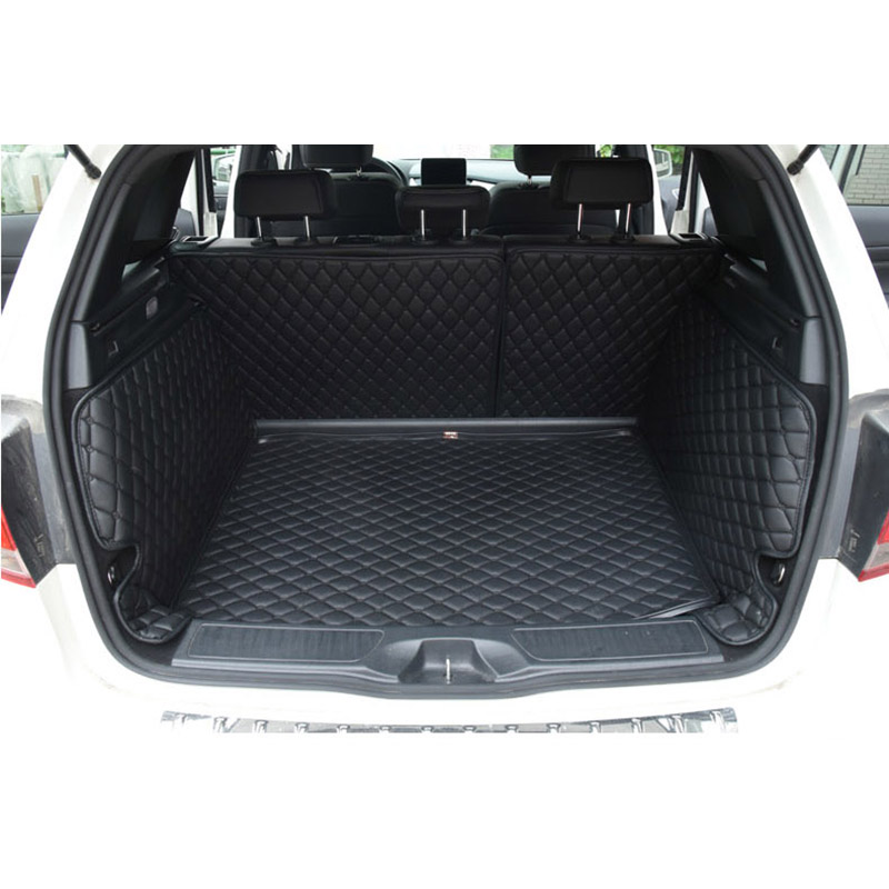 lsrtw2017 leather car trunk mat cargo liner for <font><b>mercedes</b></font> benz B180 <font><b>b200</b></font> b260 2012 2013 2014 2015 2016 2017 2018 <font><b>w246</b></font> accessories image