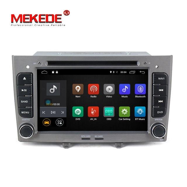 Mekede M518 Pur Android 7.1 lecteur DVD de Voiture pour Peugeot 308 408 avec GPS de voiture de navigation multimédia audio radio vedio 4g wifi BT