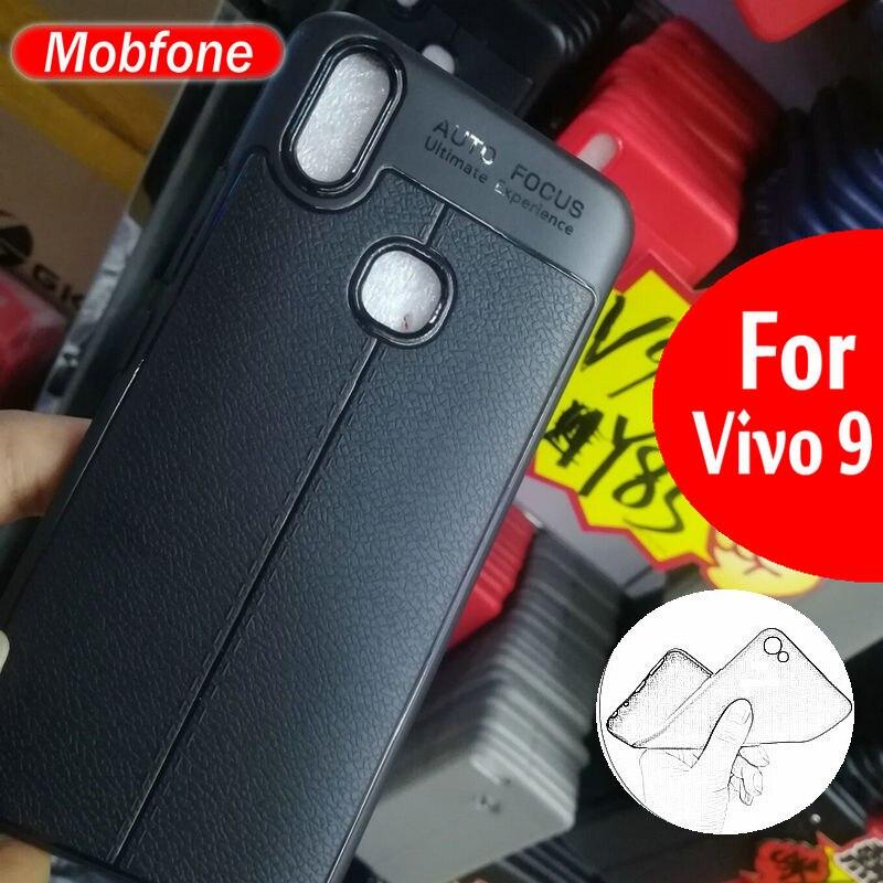 Новые НСРБ кожа ТПУ Мягкая задняя крышка для естественных V9 Y85 ультра тонкий чехол Fundas Shell для Vivo v9 телефон Coque САППУ