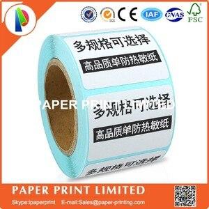 Image 2 - 50 rolls 50*30*800 adesivi stampa di etichette di carta Termica carta del codice a barre supermercato elettronico