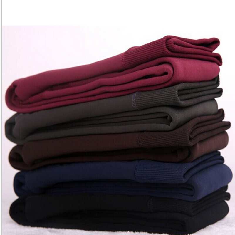 Rooftrellen Hot New Fashion Women's Autumn And Winter High Elasticity And Good Quality Thick Velvet Pants Warm Leggings 11