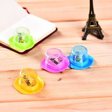 Novel transparent magic hat pencil sharpener Office School Supplies prize Girl gift Pens Pencils Writing Supplies stationery