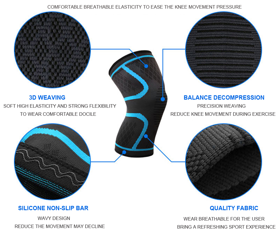 Nylon Sport Compression Knee Pad