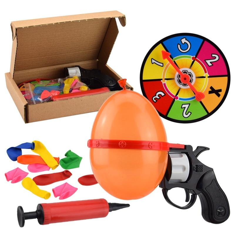 Rosyjska ruletka Party Balloon Gun Model Kreatywne zabawki dla - Nowości i Gag zabawki - Zdjęcie 5