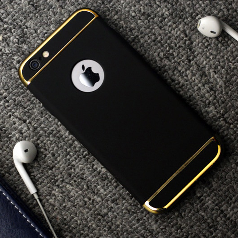 Lyxborttagbar 3-i-1-fodral för Apple iPhone 7 7Plus Coque 6 6S Plus - Reservdelar och tillbehör för mobiltelefoner - Foto 6