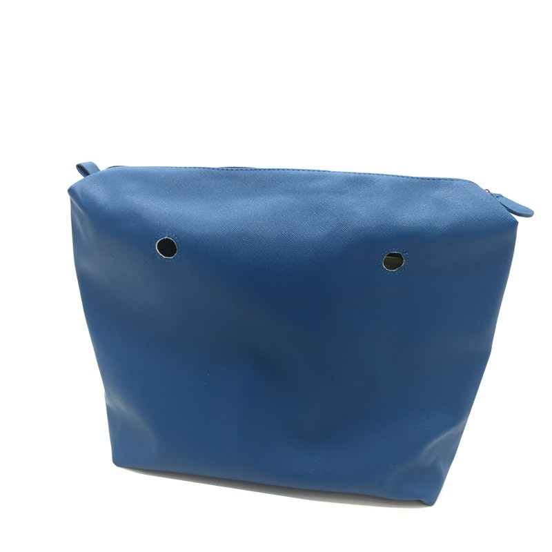 blue pu inner bag