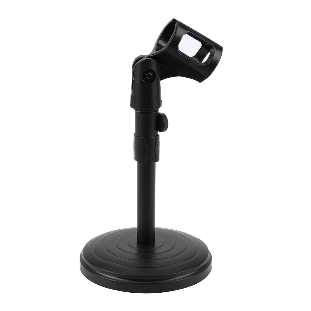 Unterhaltungselektronik Heimelektronik Zubehör Folding Einstellbare Desktop Handheld Mic Mikrofon Clip Halter Stehen Stativ A-1