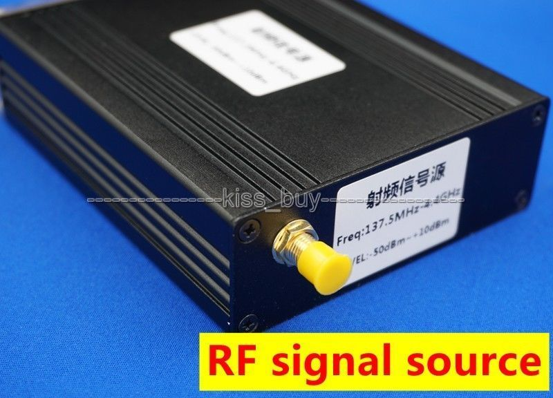 OLED affichage numérique ADF4351 35 MHZ-4.4 GHZ générateur de Signal fréquence RF source de signal + dc 12 v puissance avec port usb - 5