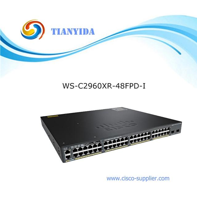 Catalyst 2960 XR 48 GigE PoE Gigabit Ethernet Switch WS C2960XR
