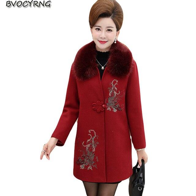 Veste hiver femme ethnique